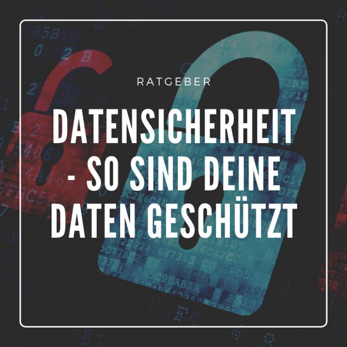 Datensicherheit im Netz-ein Thema mit sensiblen Hintergrund.