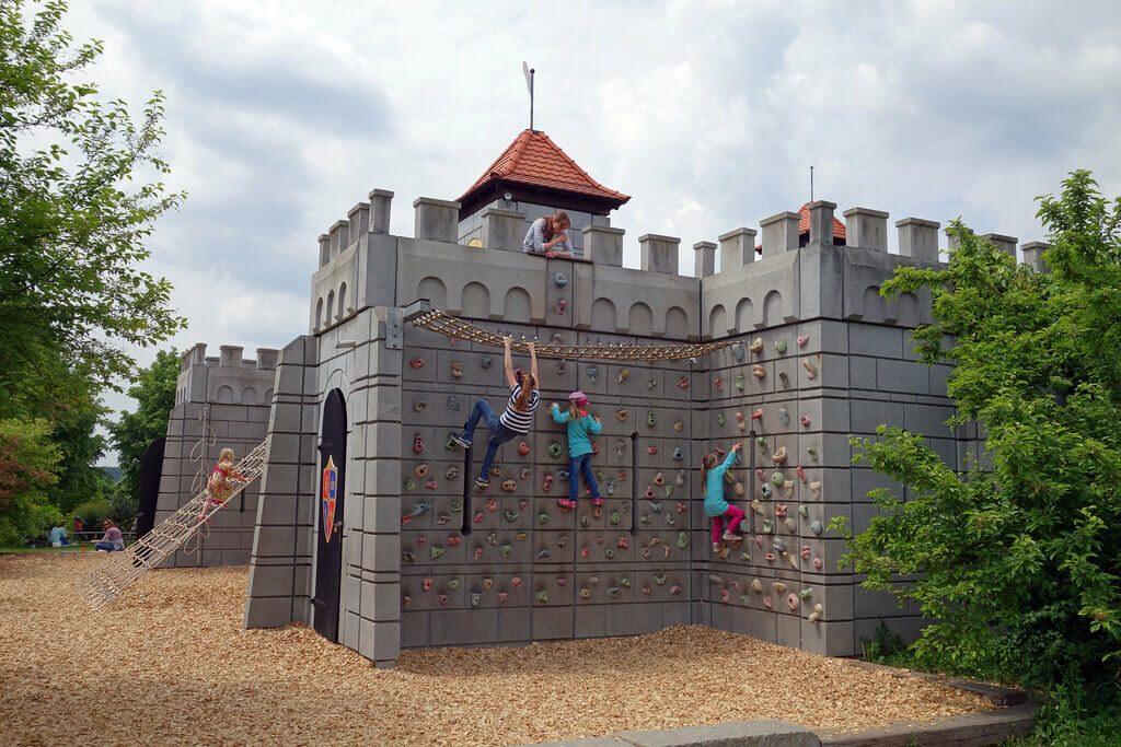 Playmobil Funpark Ritterburg aussen