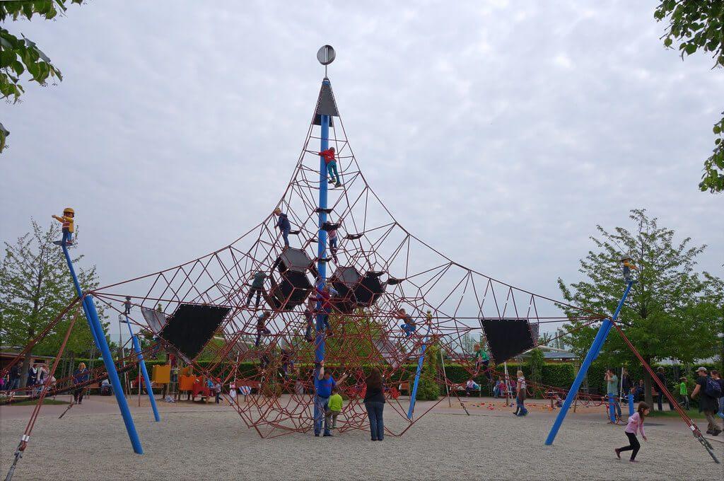 Playmobil Freizeitpark Kletternetz Aktivspielplatz