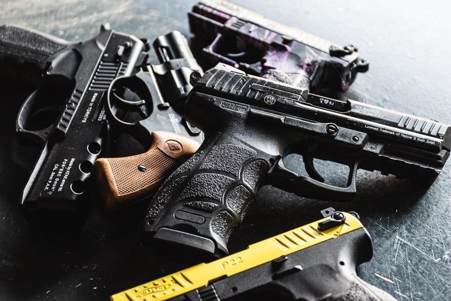 schreckschusswaffe beantragen