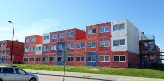 Container-Haus-Studenten