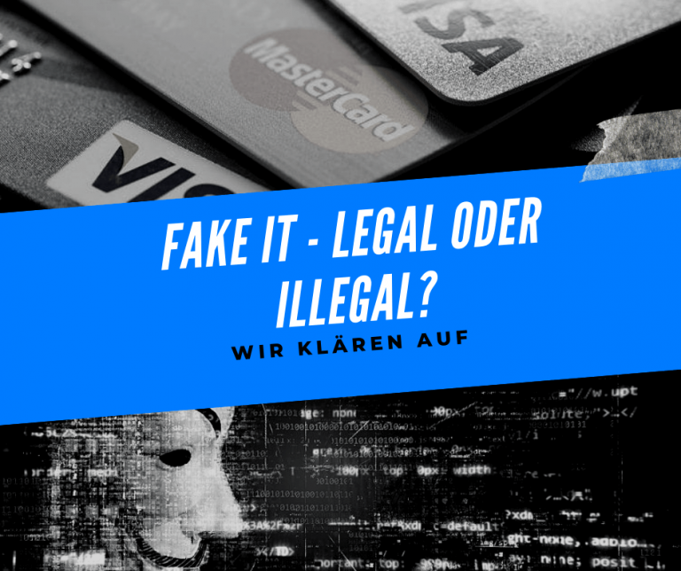Fake IT: Legal oder illegal?