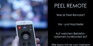 Peel Remote Titelbild