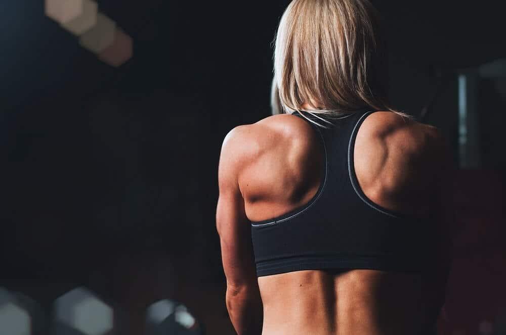 frau fitness